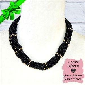 Jewelry - Multi Strand Lucite Necklace ~0cd40s0lc2